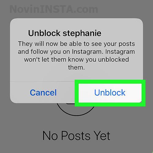 چطور از بلاک اینستاگرام دربیایم
