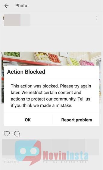 مسدود شدن اینستاگرام