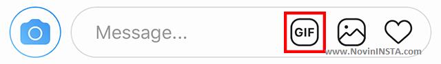 آموزش ارسال گیف در دایرکت اینستاگرام , چگونه در دایرکت گیف ارسال کنید