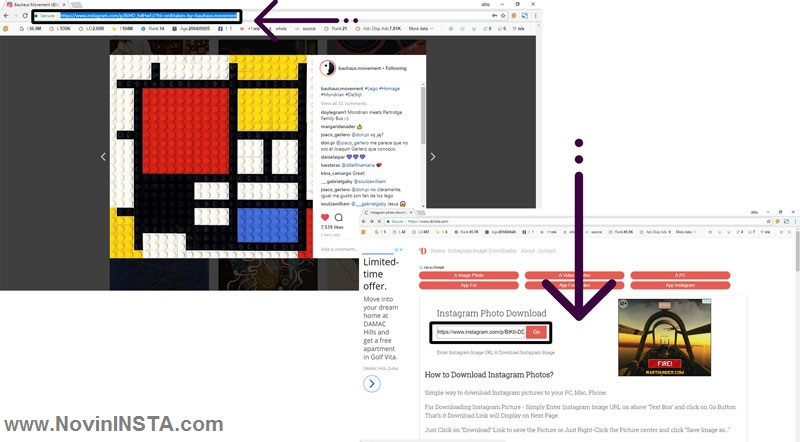 آموزش کامل دانلود فیلم و عکس از اینستاگرام , روش دانلود در اینستاگرام کامپیوتر