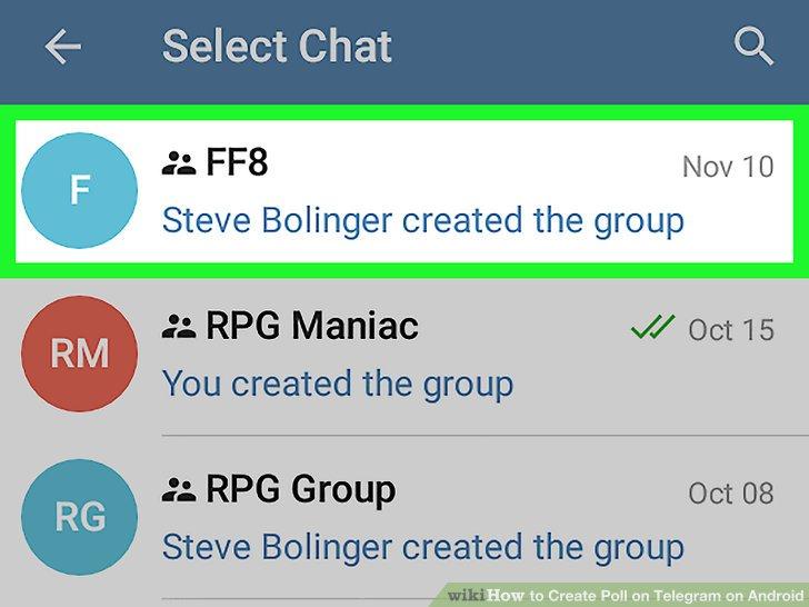 آموزش ارسال نظر سنجی در تلگرام با استفاده از ربات