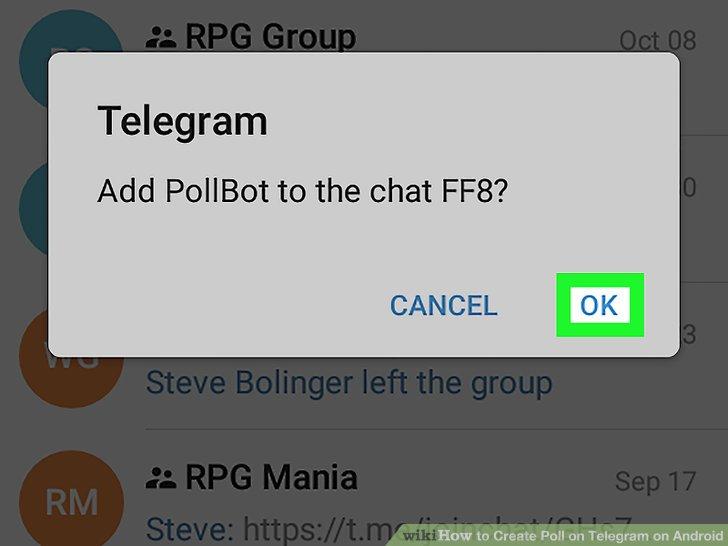 چگونه در تلگرام نظرسنجی ایجاد کنیم