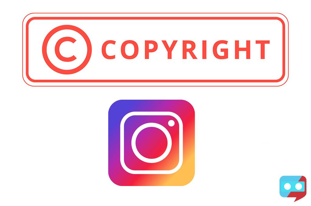 جلوگیری از قوانین کپی رایت اینستاگرام